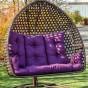Подвесное кресло кокон Дабл Премиум Нью (Dabl-premium-nyu)