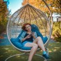 Підвісне крісло кокон Емілія (Emiliya)