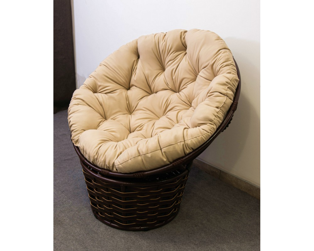 Кресло садовое + ротанг ПАПАСАН Фемели Люкс
