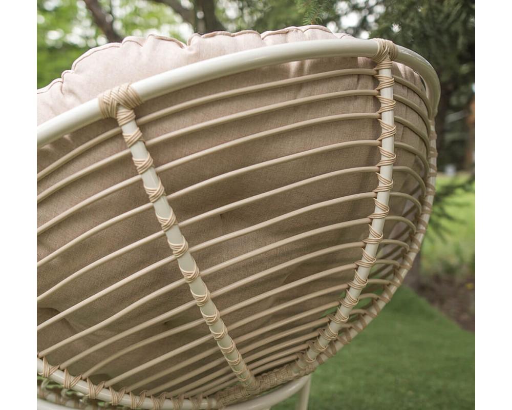 Кресло садовое из ротанга Папасан