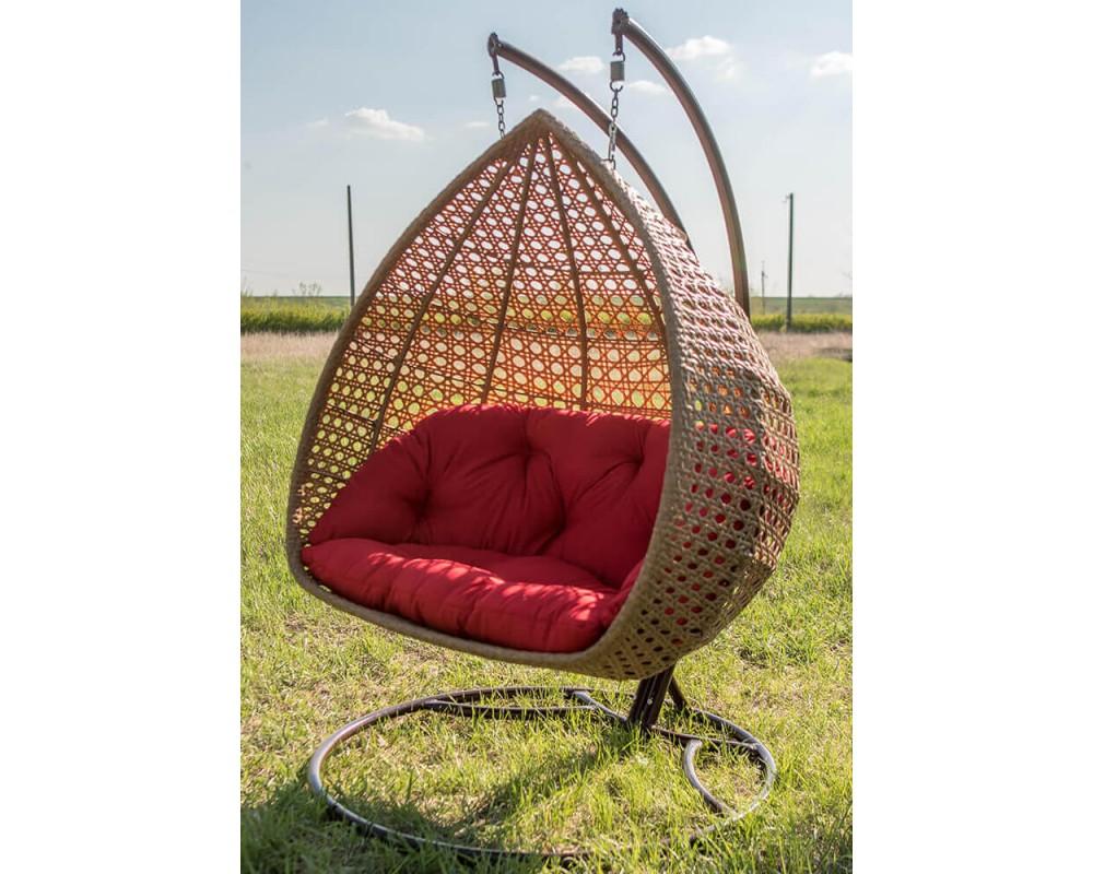 Подвесное кресло кокон Дабл Примиум (Premium)